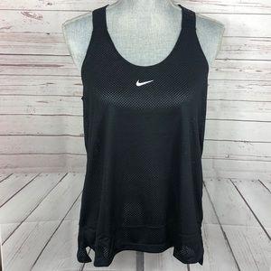 NWT Nike Mesh Sport Training Top Medium black